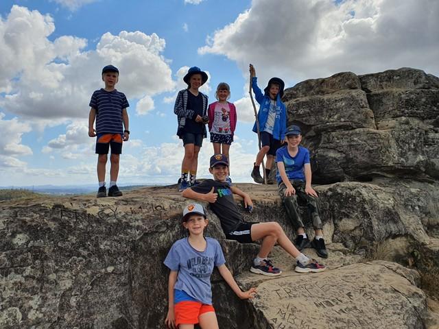 White Rock Ridge Hike - Aussie Bushwalking